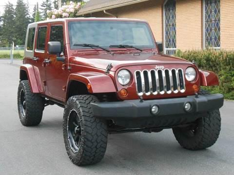 2007 Jeep Wrangler Unlimited for sale in Edmonds, WA