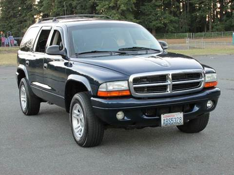 2003 dodge durango for sale washington. Black Bedroom Furniture Sets. Home Design Ideas