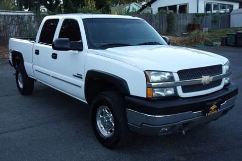 2003 Chevrolet Silverado 2500HD for sale in Edmonds, WA