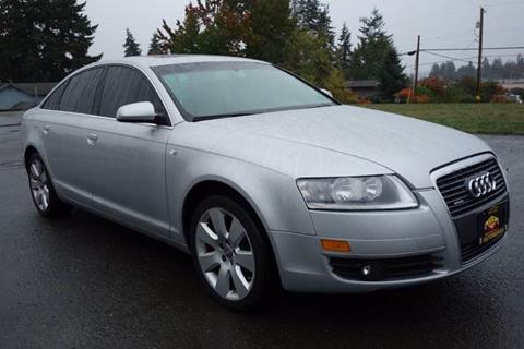 Audi A For Sale In Edmonds WA Carsforsalecom - 2006 audi a6