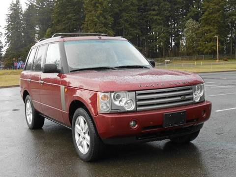 2004 Land Rover Range Rover for sale in Edmonds, WA