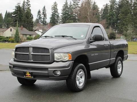 2002 Dodge Ram Pickup 1500 for sale in Edmonds, WA