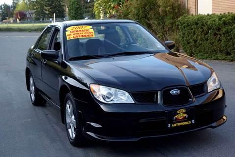 2007 Subaru Impreza For Sale In Washington Carsforsale