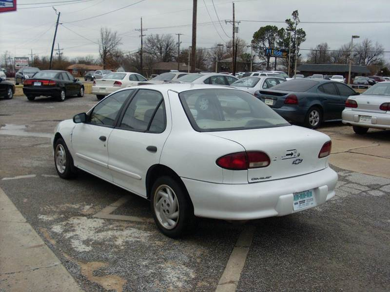 1999 chevrolet cavalier base 4dr sedan in broken arrow ok. Black Bedroom Furniture Sets. Home Design Ideas