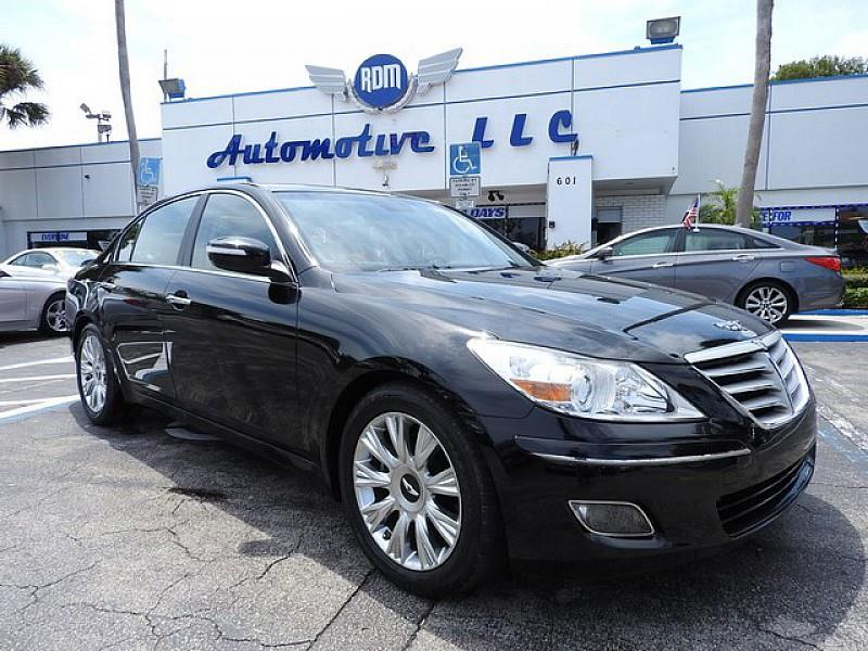 2010 hyundai genesis 3 8l v6 4dr sedan in plantation fl rdm auto sales. Black Bedroom Furniture Sets. Home Design Ideas