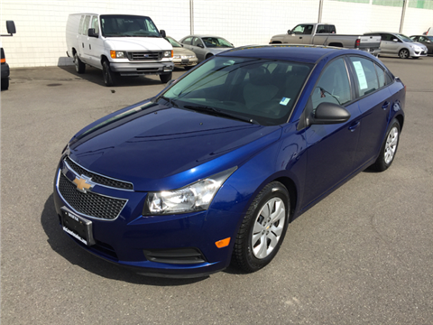 2013 Chevrolet Cruze for sale in Lakewood, WA