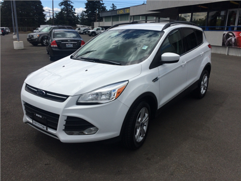Ford Escape For Sale Lakewood Wa