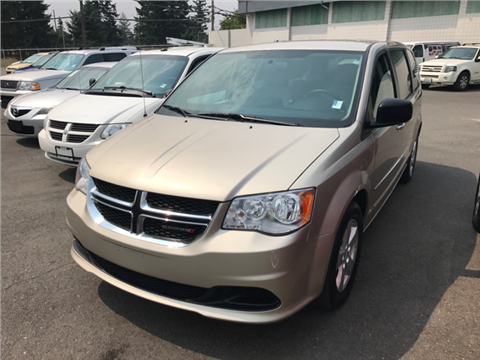 2013 Dodge Grand Caravan for sale in Lakewood, WA