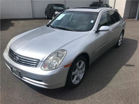 2003 Infiniti G35 For Sale Carsforsale