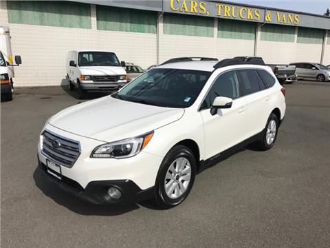 2015 Subaru Outback for sale in Lakewood, WA