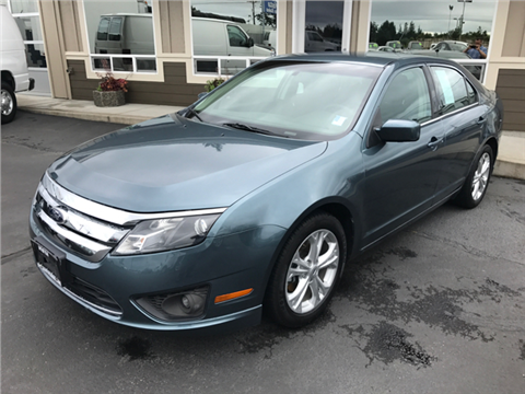 2012 Ford Fusion for sale in Lakewood, WA