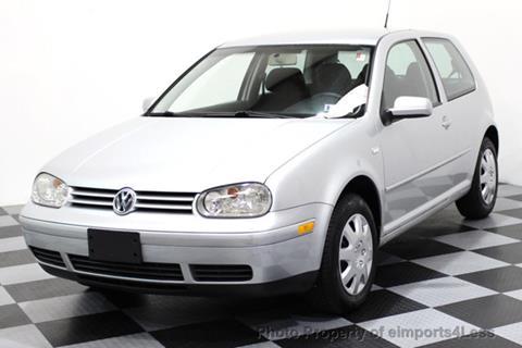 2004 Volkswagen Golf for sale in Perkasie, PA
