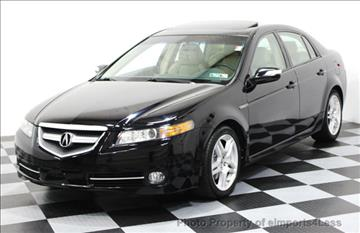 2007 Acura TL for sale in Perkasie, PA