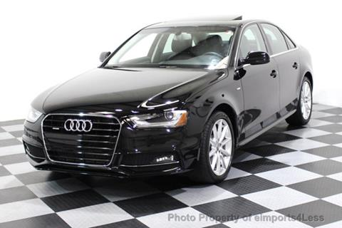 2015 Audi A4 for sale in Perkasie, PA