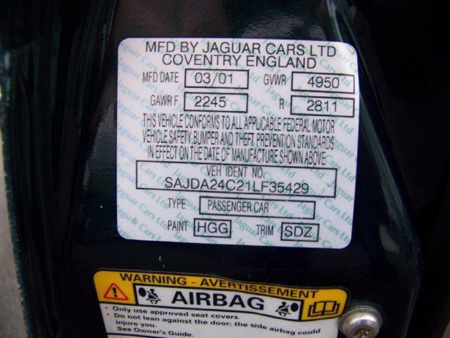2001 Jaguar XJ Vanden Plas - ROCHESTER NY
