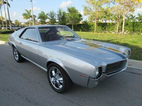 1968 AMC AMX for sale in Hialeah Gardens, FL