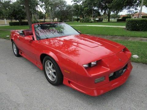 1992 Chevrolet Camaro for sale in Hialeah Gardens, FL