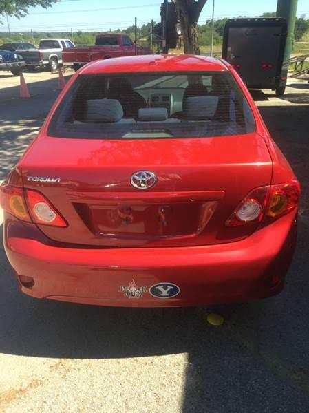 2010 Toyota Corolla 4dr Sedan 5M - New Braunfels TX