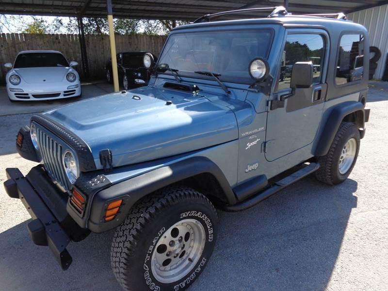 1998 jeep wrangler sport 2dr 4wd suv in new braunfels tx for Trophy motors new braunfels texas