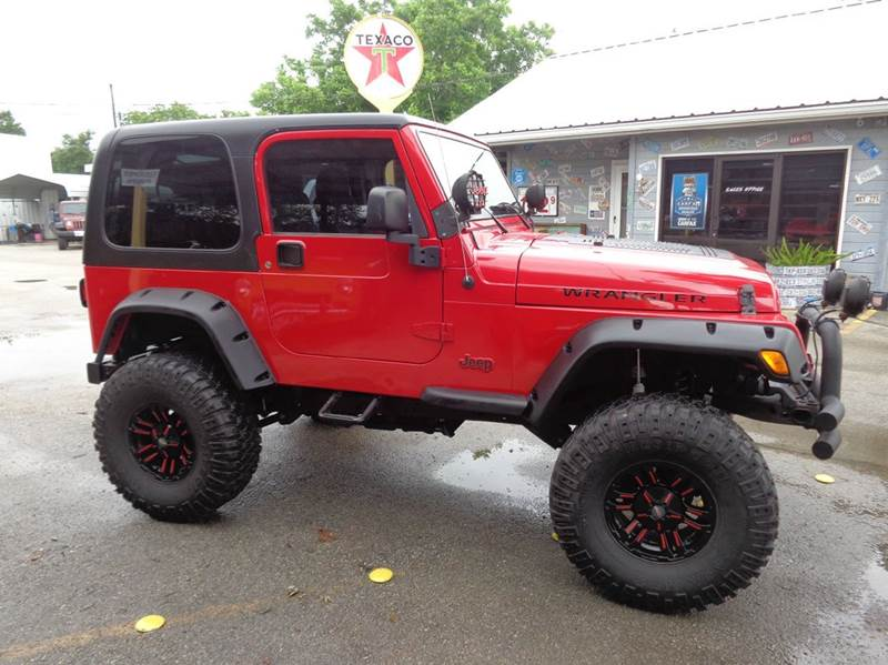 2006 jeep wrangler x 2dr suv 4wd in new braunfels tx for Trophy motors new braunfels texas