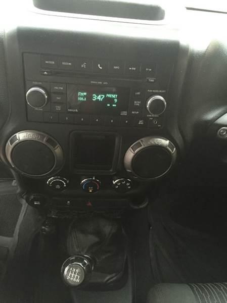 2011 Jeep Wrangler Unlimited 4x4 Sport 4dr SUV - New Braunfels TX