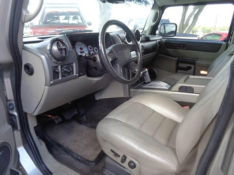 2003 HUMMER H2 4dr 4WD SUV - New Braunfels TX