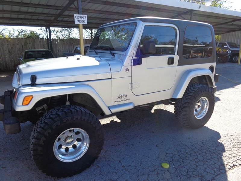 2005 jeep wrangler 2dr x 4wd suv in new braunfels tx for Trophy motors new braunfels