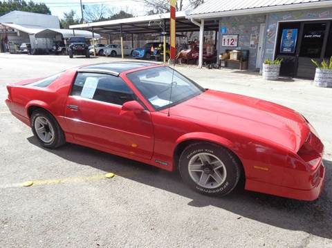 used 1989 chevrolet camaro for sale. Black Bedroom Furniture Sets. Home Design Ideas