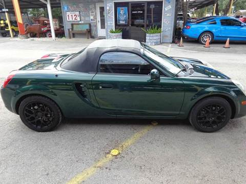 2003 Toyota MR2 Spyder for sale in New Braunfels, TX