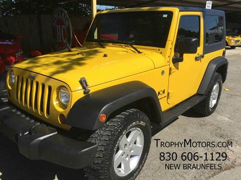 Jeep for sale new braunfels tx for Trophy motors new braunfels