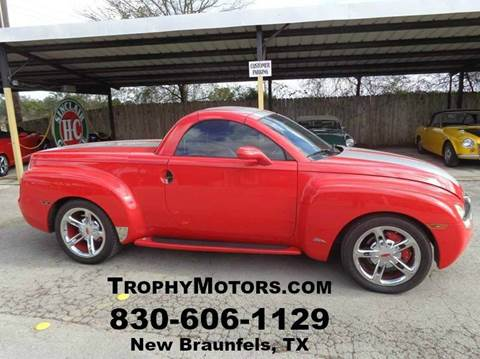 Chevrolet ssr for sale texas for Trophy motors new braunfels