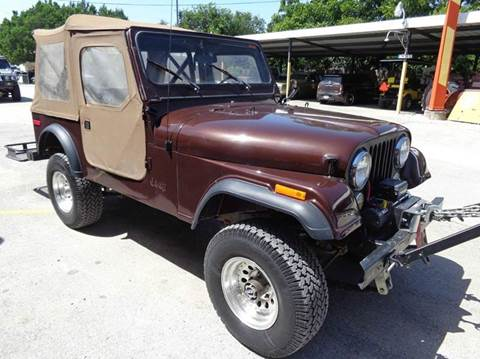 1980 Jeep CJ-7 for sale in New Braunfels, TX