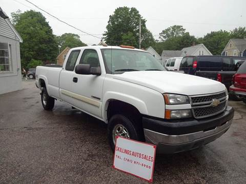 2005 Chevrolet Silverado 2500HD for sale in Abington, MA