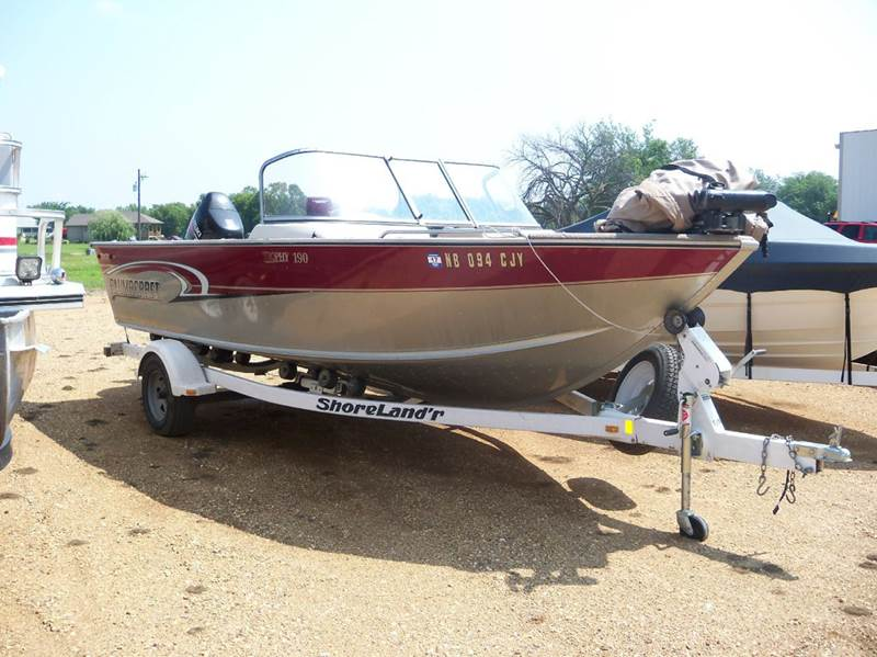 2003 Alumacraft 190 TROPHY