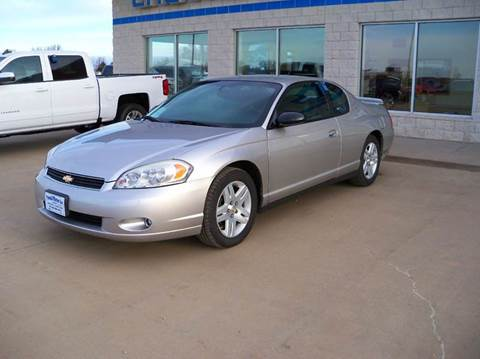 2006 Chevrolet Monte Carlo for sale in Tyndall, SD