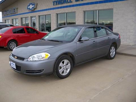 2007 Chevrolet Impala for sale in Tyndall, SD