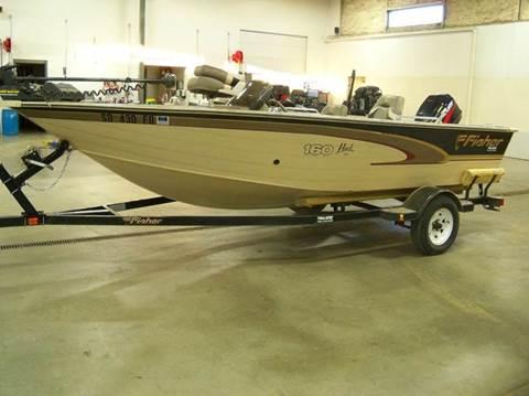 2000 Fisher 160 HAWK