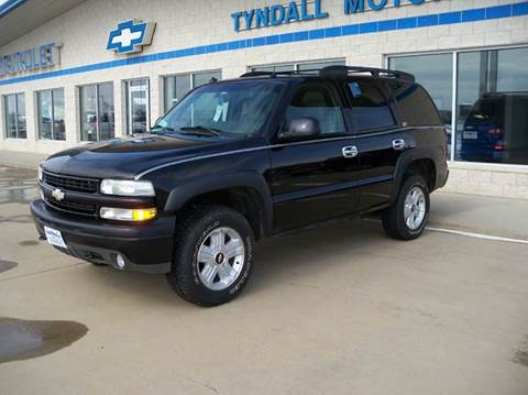 2003 Chevrolet Tahoe for sale in Tyndall, SD