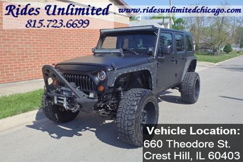 2007 Jeep Wrangler Unlimited for sale in Crest Hill, IL