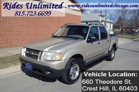 2004 Ford Explorer Sport Trac For Sale In Crest Hill Il
