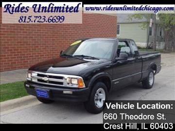 1997 Chevrolet S-10 for sale in Crest Hill, IL