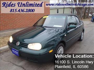 2000 Volkswagen Cabrio for sale in Crest Hill, IL