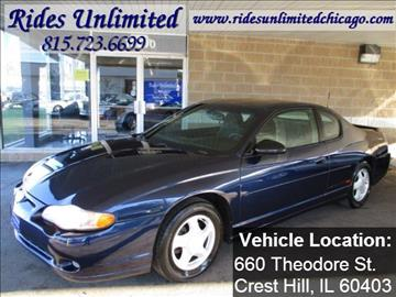 2001 Chevrolet Monte Carlo for sale in Crest Hill, IL