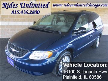 2002 Chrysler Town and Country for sale in Crest Hill, IL