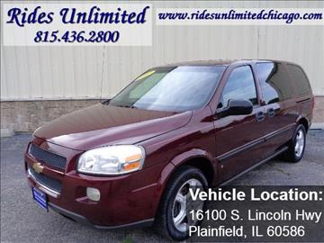 2007 Chevrolet Uplander for sale in Crest Hill, IL