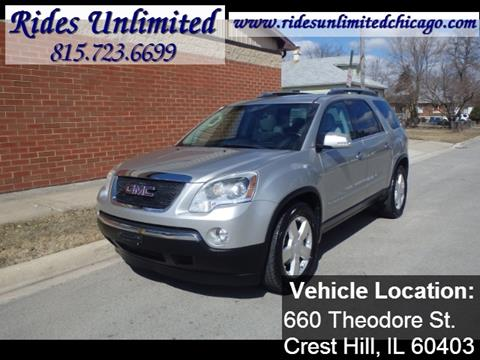 2008 GMC Acadia for sale in Crest Hill, IL