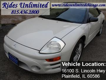 2003 Mitsubishi Eclipse Spyder for sale in Crest Hill, IL