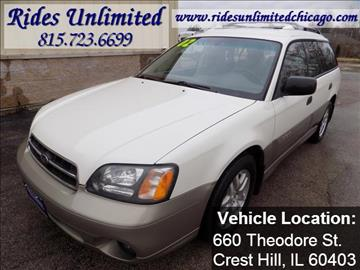 2002 Subaru Outback for sale in Crest Hill, IL