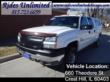 2005 Chevrolet Silverado 2500HD for sale in Crest Hill, IL