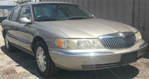 2001 Lincoln Continental for sale in Dallas, TX